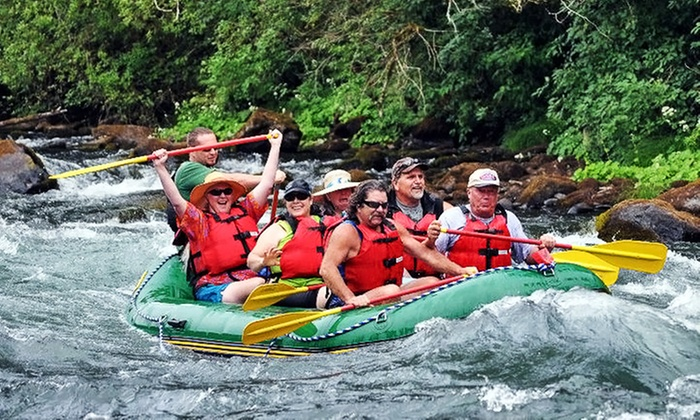 River Trail Guides - Willakenzie: Half-Day Rafting Trip with Lunch for Two, Four, Six, or Eight from River Trail Guides (Up to 66% Off)