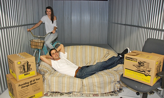 $29 for $100 Worth of Storage Rental at StorageMart. 22 Locations Available.