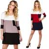 Lyss Loo Women's Colorblock Tunic Dress