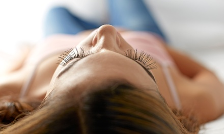 Full Set of Silk Eyelash Extensions with Optional One or Two Fills at The Lash Boutique (50% Off)