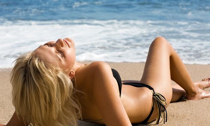 Wish Boutique & Salon - Wrenwood: Three Airbrush Tans or 40 UV Tans at Wish Boutique & Salon (Up to 60% Off)