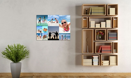 Personalised Collage Canvases Print in Choice of Size from £3.50