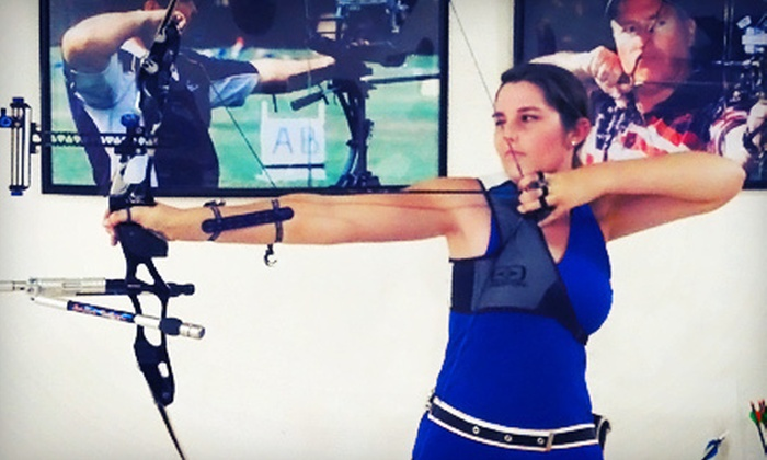 Hi-Tech Archery - Hi-Tech Archery: $25 for an Archery Lesson for Two at Hi-Tech Archery ($50 Value)