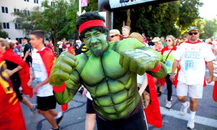 Superheroes 5K - Capitol Mall: Entry to Superheroes 5K on Sunday, June 15 (Up to 50% Off)