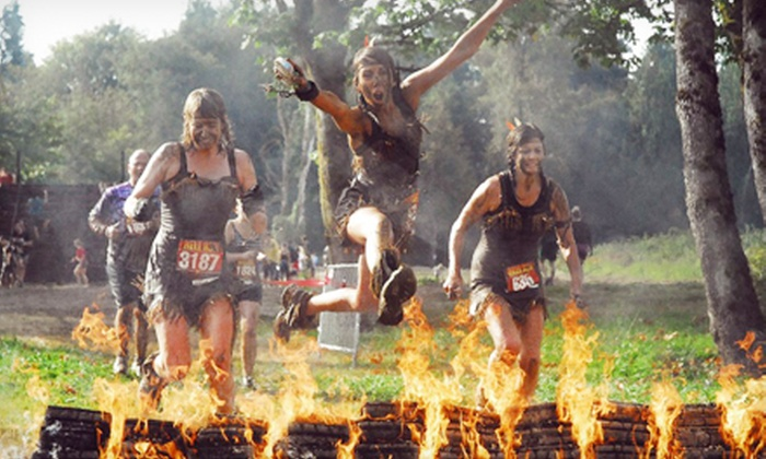 Hell Run Seattle - Carnation: $49 for One Entry to Hell Run Seattle at Remlinger Farms on Saturday, September 14 (Up to $85 Value)