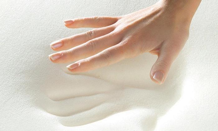 78 Off On Comforpedic Memory Foam Topper Livingsocial Shop