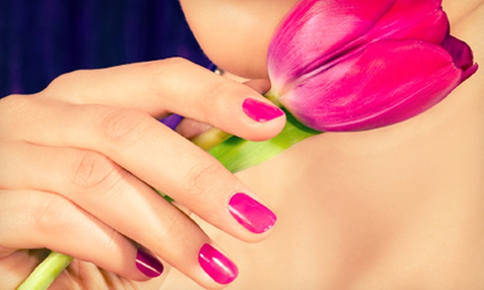 Nails By Kendra - Hyde Park: Shellac Manicure or Standard Mani-Pedi at Nails By Kendra (Up to 53% Off)