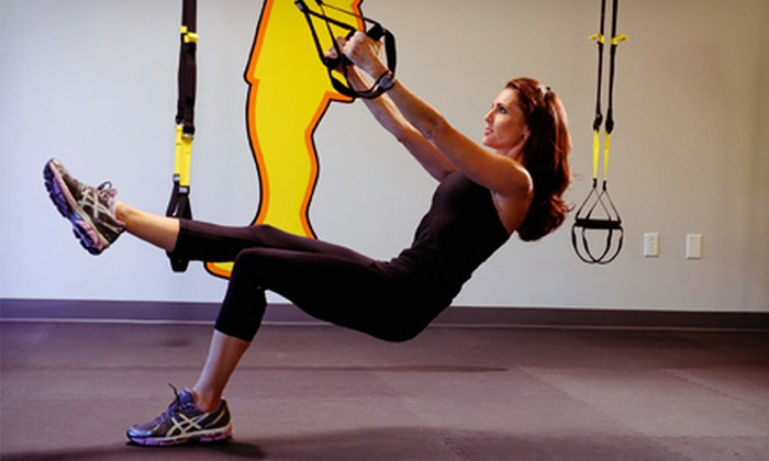 Fitness With Insight - Bluffview: Three or Five TRX Suspension Training Sessions or a Month of Unlimited Sessions at Fitness With Insight (Up to 61% Off)