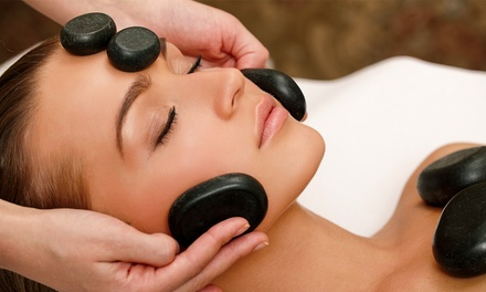 3 o 5 hot stone massage al viso da 30 minuti