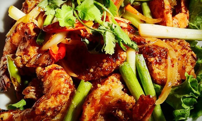 Racha Thai & Asian Kitchen - Tukwila Urban Center: $10 for $20 Worth of Thai Fusion Cuisine for Dinner at Racha Thai & Asian Kitchen