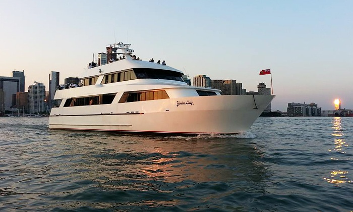 Yankee Lady - Downtown Toronto: Saturday Lunch Cruise for One Adult or Child from Yankee Lady Yacht Charters (Up to 49% Off)