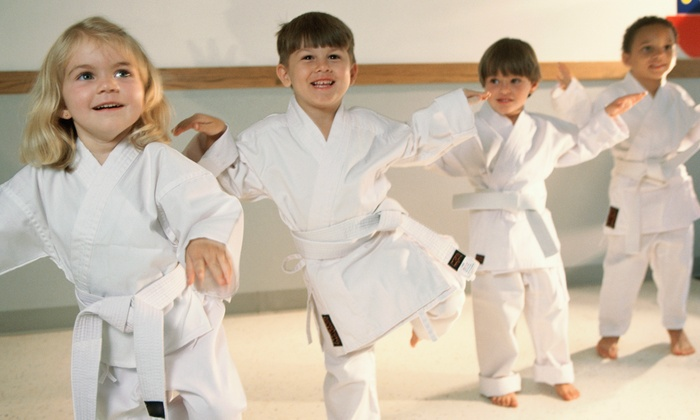 Just For Kicks Black Belt Academy - Mandeville: Four or Eight Introductory Sessions with Uniform at Just For Kicks Black Belt Academy (Up to 80% Off)