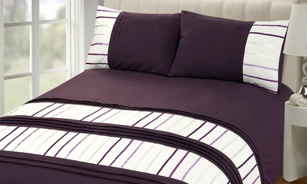 Rapport Home Brooklyn Duvet Cover Set in Choice of Colour