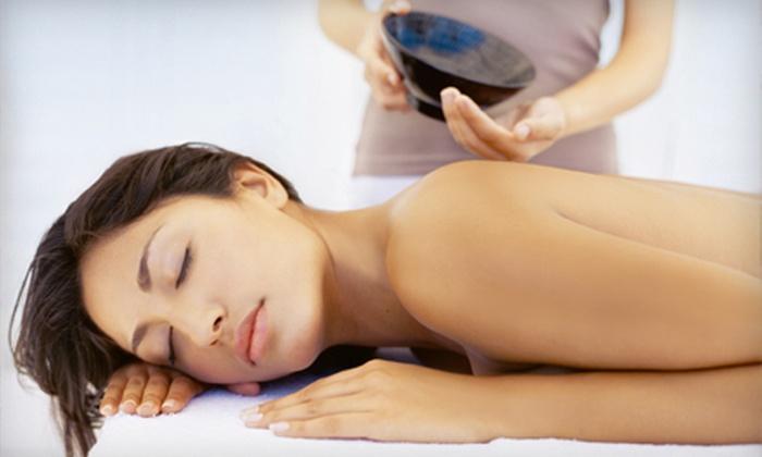 Coterie Purlieu - Downtown: Spa Mani-Pedi or Deep-Tissue Massage at Coterie Purlieu (Half Off)