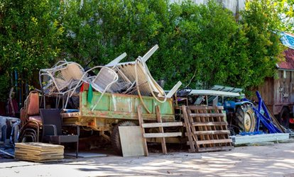 Junk Removal Services from CleanStart (Up to 32% Off). Four Options Available.