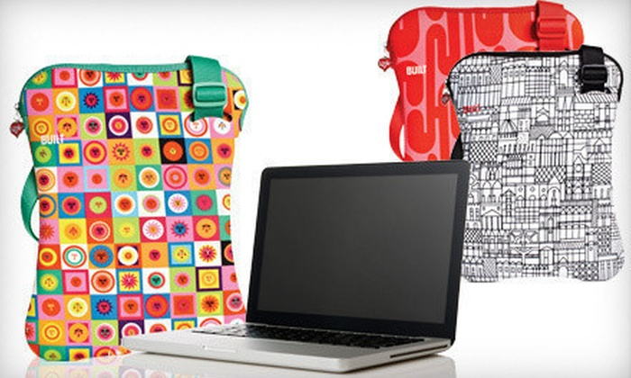 Built NY Laptop Sling: $19 for a Built NY Alexander Girard Laptop Sling ($50 Value). Two Sizes and Three Styles Available.