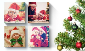 Printerpix: Custom Square Instagram Photo Canvas from $5 by Printerpix (Up to 89% Off)