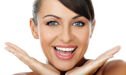 Whitening with or without One or Two Exam Packages and Cleaning Packages(Up to 88% Off)
