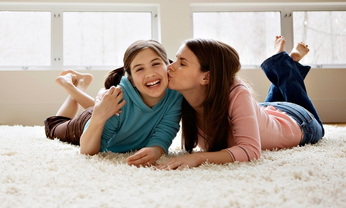 On Time Carpet Cleaning, Inc. - Multiple Locations: $90 for Carpet Cleaning for Three Rooms from On Time Carpet Cleaning, Inc. ($189 Value)