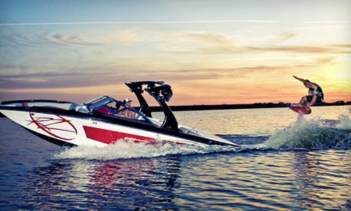 BC Wake Boats - Vancouver: One or Two-Hour Boat Charter with Aquatic Sports Activities at BC Wake Boats (Up to 56% Off)
