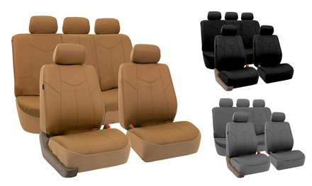 Rome PU Leather Airbag-Ready Seat Covers