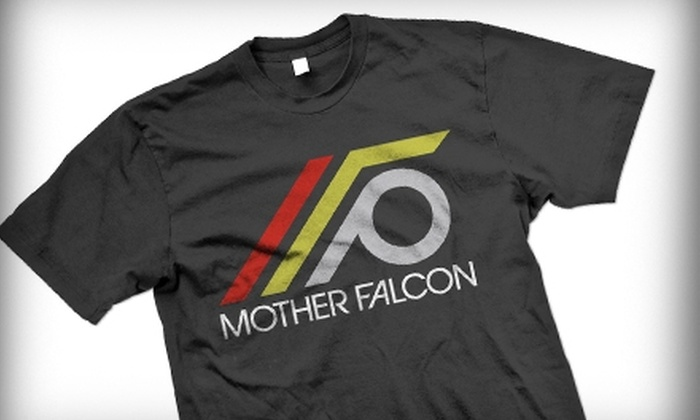 Mother Falcon - Thornton Park: $14 for a Custom T-shirt with Design Assistance at Mother Falcon (Up to $49.99 Value)