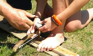 Barefoot Bushcraft: Half-Day Survival-Skills Workshop for One, Two, or Four at Barefoot Bushcraft (Up to 52% Off)