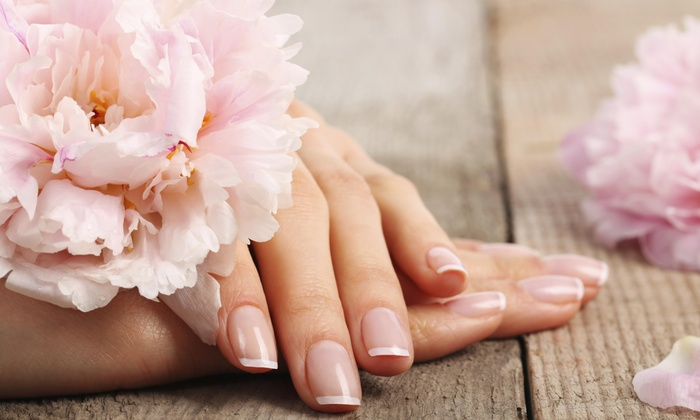 Fancy Nail&spa - North Burlington: No-Chip Manicure and Pedicure Package from Fancy Nails & Spa (45% Off)