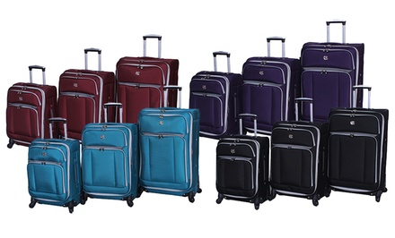 Oleg Cassini 3-Piece Luggage Set