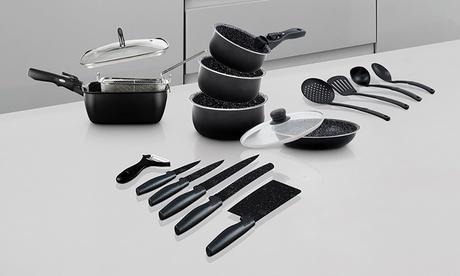 Batería de cocina y cuchillos ICARUS