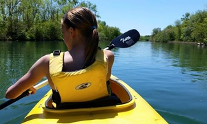 Half-day Kayak Rentals For Two Or Four At Fuzzy Guppies (up To 71% Off)