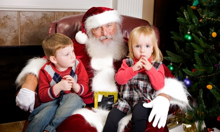 Photos with Santa for Up to Four Kids with Prints or CD at Southlands Ventures Inc. (Up to 57% Off)