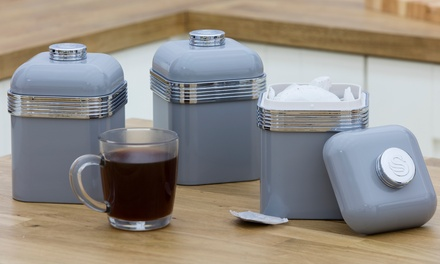 Swan RetroStyle Set of Three Canisters