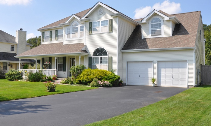 Rx Sealers - Central Jersey: Driveway Sealcoating for Up to 300 or 600 Sq Ft from Rx Sealers (Up to 50% Off)