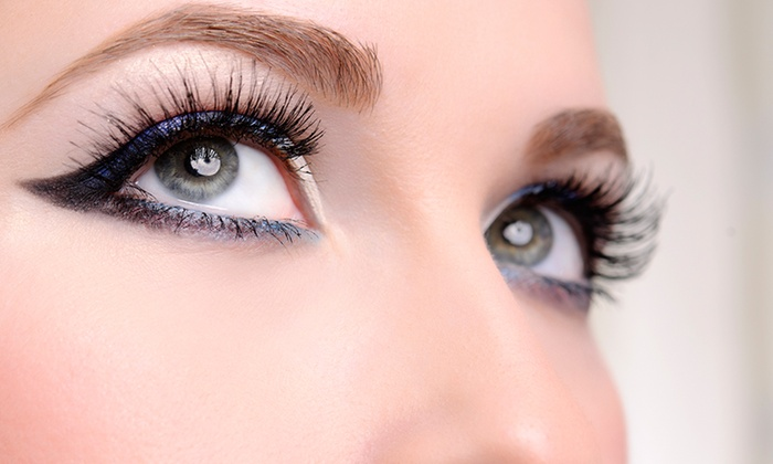 Flawless Lashes - Kennedy: Full Set of Eyelash Extensions at Flawless Lashes (56% Off)