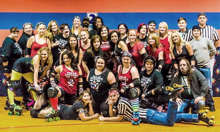 Texas Outlaws Roller Derby - Alvin: Roller Derby Boot Camp for 1 or 2 or Game Tickets for 2 or 4 from Texas Outlaws Roller Derby (Up to 80% Off)