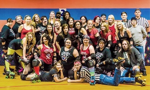 Texas Outlaws Roller Derby: Roller Derby Boot Camp for 1 or 2 or Game Tickets for 2 or 4 from Texas Outlaws Roller Derby (Up to 80% Off)