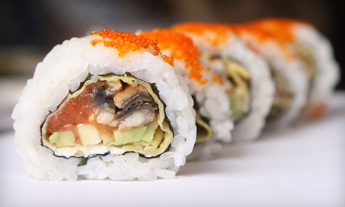 Nikko Sushi & Hibachi - Reston: Sushi and Japanese Cuisine at Nikko Sushi & Hibachi (Half Off). Two Options Available.