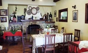 IL RIFUGIO (SANT AGNELLO): Menu sapori del Mediterraneo con bottiglia di vino per 2 persone da Il Rifugio (sconto 70%)