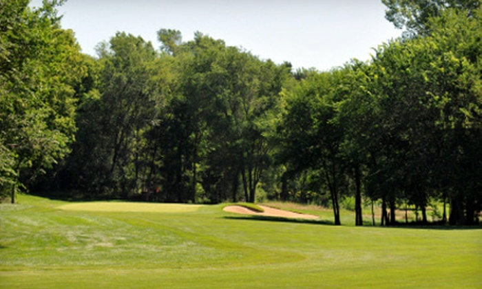 The Bluffs Golf Course - The Bluffs Golf Course: 18-Hole Weekday or Weekend Golf Outing with Cart for Two at The Bluffs Golf Course in Vermillion (Half Off)