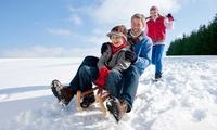 1 Tag Rodelspaß inkl. Verleih für Kind od. Erwachsene bei Glück Auf Skigebiet Winterberg Langewiese (bis zu 31% sparen*)