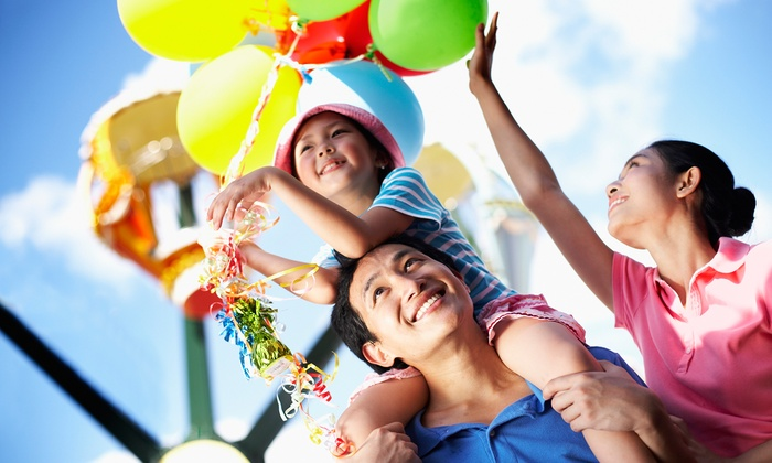 Alameda County Fair Association - Alameda County Fairgrounds: Single-Day Admission for Two or One Parking Pass for Alameda County Fair on June 18–July 6 (Up to 50% Off)