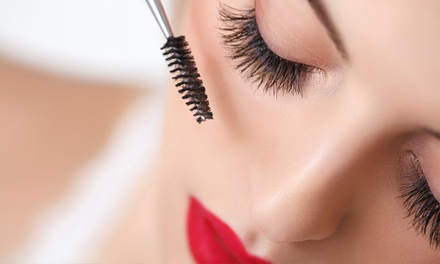Eyelash Lift ($35) plus Tint ($39) at Just Threading   Fountain Gate (Up to $75 Value)