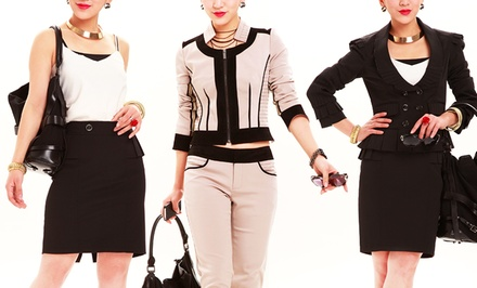 Women's Mix-and-Match Suit Jackets, Skirt, and Pants from $19.99–$28.99