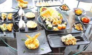 Restaurante Kanpai Blue - Jardim Goiás: Kanpai Blue – Jardim Goiás: festival japonês executivo ou Blue para 1 ou 2 pessoas