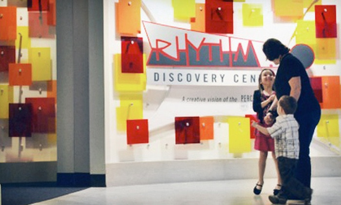 Rhythm! Discovery Center - Downtown Indianapolis: Admission for Two, Four, or Six at Rhythm! Discovery Center (Half Off)