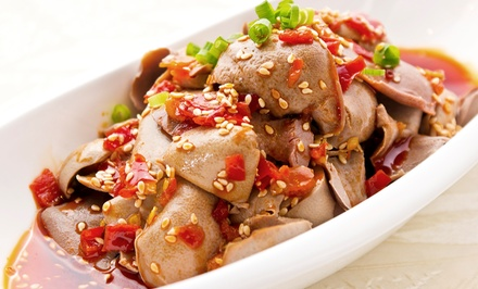 Chinese Food and Drinks at Jia Restaurant (Up to 47% Off). Two Options Available.