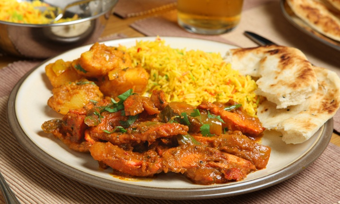 iSpice - North Brunswick: Weekend Indian Lunch Buffet for Two or Four, or Dinner at iSpice (Half Off)