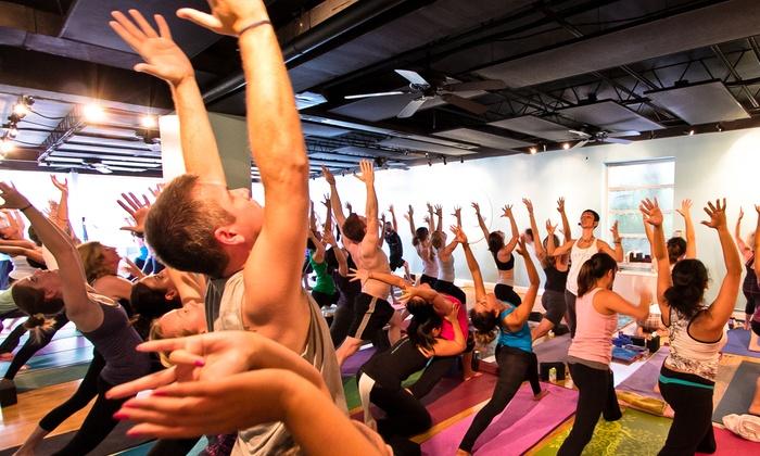 Dancing Mind Yoga - Falls Church: 10 Yoga Classes or One Month of Unlimited Yoga Classes at Dancing Mind Yoga (Up to 84% Off)