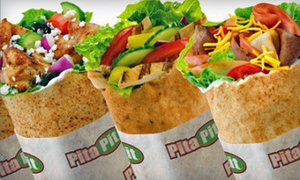 Pita Pit: CC$14 for CC$24 Worth of a Pita and a Drink at Pita Pit